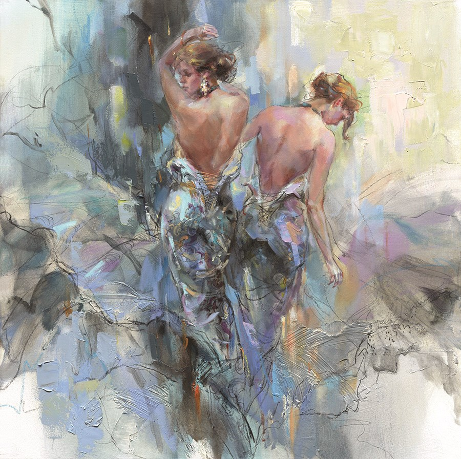 Luminous Day by Anna Razumovskaya - Hand Finished Limited Edition on Canvas sized 30x30 inches. Available from Whitewall Galleries